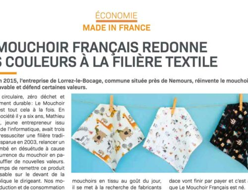 Article sur le Magazine Le Moniteur 77